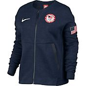 Nike Women's Sportswear Team USA Tech Fleece Full Zip Jacket