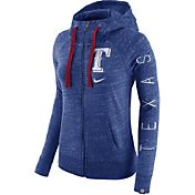 Nike Men's Texas Rangers Vintage Royal Full-Zip Hoodie