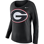 Nike Women's Georgia Bulldogs Tailgate Black Long Sleeve Shirt