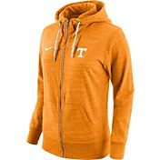 Nike Women's Tennessee Volunteers Heathered Tennessee Orange Tailgate Gym Vintage Full-Zip Hoodie