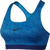 Nike Women's Pro Classic Padded Cascade Printed Sports ...