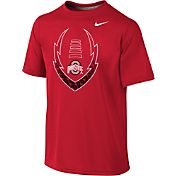 Nike Youth Ohio State Buckeyes Scarlet Football Icon Legend T-Shirt