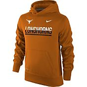 Nike Youth Texas Longhorns Burnt Orange Therma-FIT Hoodie