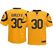 Nike Youth Color Rush 2016 Game Jersey Los Angeles Rams Todd Gurley #30