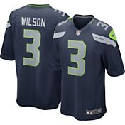 Nike Youth Home Game Jersey Seattle Seahawks Russell Wilson #3
