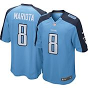 Nike Youth Tennessee Titans Marcus Mariota #8 Light Blue Game Jersey