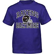 NFL Team Apparel Boys' Baltimore Ravens Play Action T-Shirt