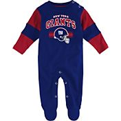 NFL Team Apparel Infant's New York Giants Newborn Coverall
