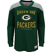 NFL Team Apparel Youth Green Bay Packers Legend Green Long Sleeve Shirt