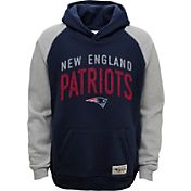 NFL Team Apparel Youth New England Patriots Foundation Navy Hoodie