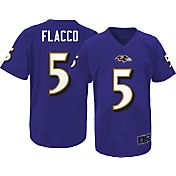 NFL Team Apparel Youth Baltimore Ravens Joe Flacco #5 Purple T-Shirt