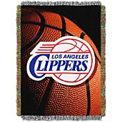 Northwest Los Angeles Clippers Photo Real Throw Blanket