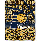 Northwest Indiana Pacers Redux Micro Raschel Throw Blanket