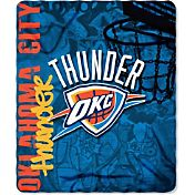 Northwest Oklahoma City Thunder Hardknocks Fleece Throw