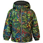 Snow Dragons Toddler Boys' Keyhole Printed Insulated Jacket