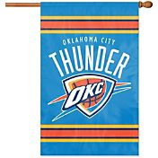 Party Animal Oklahoma City Thunder Applique Banner Flag