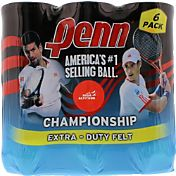 Penn Championship High Altitude Tennis Balls - 6 Can Pack