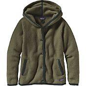 Patagonia Women's Shearling Fleece Hooded Cardigan