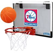 Rawlings Philadelphia 76ers Game On Polycarbonate Hoop Set