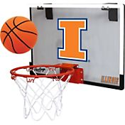 Rawlings Illinois Fighting Illini Game On Backboard Hoop Set