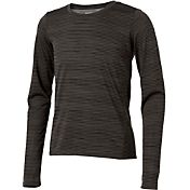 Reebok Girls' Hem Detail Striped Long Sleeve Shirt