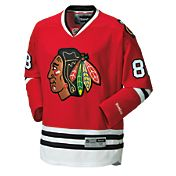 Reebok Men's Chicago Blackhawks Custom Premier Replica Home Jersey