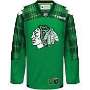 Reebok Men's Chicago Blackhawks St. Patrick's Day Jersey