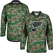 Reebok Men's St. Louis Blues Digital Camouflage Practice Jersey