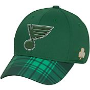Reebok Men's St. Louis Blues St. Patrick's Day Flex Hat