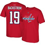 Reebok Men's Washington Capitals Nicklas Backstrom #19 Home Player T-Shirt
