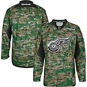 Reebok Men's Detroit Red Wings Digital Camouflage Practice Jersey