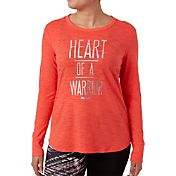 Reebok Women's Warrior Graphic Long Sleeve Shirt