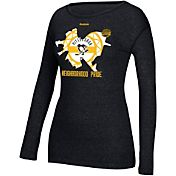 Reebok Women's 2017 NHL Stadium Series Pittsburgh Penguins Neighborhood Pride Black Long Sleeve T-Shirt