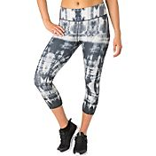 Reebok Women's Plus Size Performance Essentials Tight Fit Printed Capris