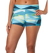 Reebok Women's 3' Printed Compression Shorts