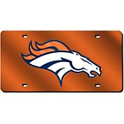 Rico Denver Broncos Orange Laser Tag License Plate