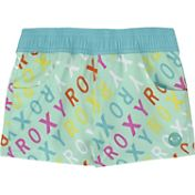 Roxy Little Girls' Surfs Up Logo Board Shorts