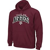 Section 101 Men's Texas AM Aggies Maroon Cotton Hoodie