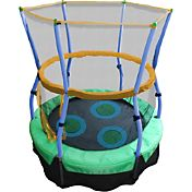 Skywalker Trampolines 40' Lilly Pad Adventure Bouncer Trampoline with Enclosure