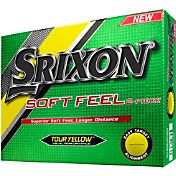 Srixon Soft Feel Tour Yellow Golf Balls