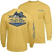 Salt Life Men's Sailfish Badge Long Sleeve Shirt