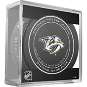 Sher-Wood Nashville Predators Official Game Puck