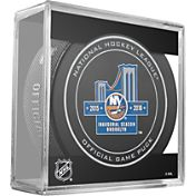 Sher-Wood New York Islanders Official Game Puck