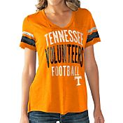Touch by Alyssa Milano Women's Tennessee Volunteers Tennessee Orange Motion Football T-Shirt