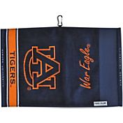 Team Effort Auburn Tigers Jacquard Golf Towel