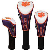 Team Effort Clemson Tigers Headcover Set - 3-Pack