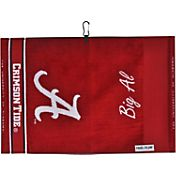 Team Effort Alabama Crimson Tide Jacquard Golf Towel