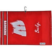 Team Effort Wisconsin Badgers Jacquard Golf Towel