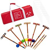 Trademark Games Coca-Cola Croquet Set