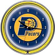 Trademark Games Indiana Pacers 14'' Neon Clock